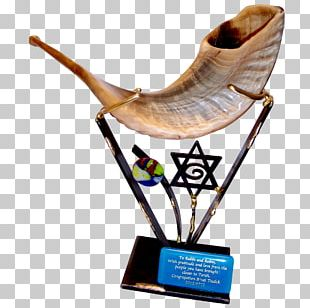 Shofar Judaism Menorah High Holy Days Jewish Ceremonial Art PNG