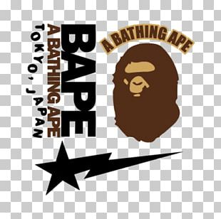 A Bathing Ape Logo Cdr PNG