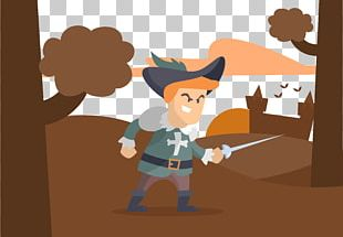 Sword Musket Firearm Illustration PNG
