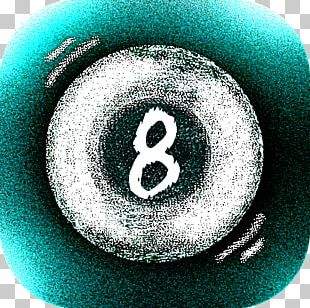 Magic 8-Ball Eight-ball Turquoise Circle Font PNG