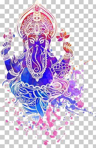 Ganesha Shiva Ganesh Chaturthi Hinduism Illustration PNG