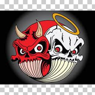 Devil Shoulder Angel Demon Yin And Yang PNG
