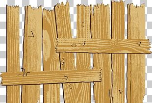 Table Wood Fence Drawing Illustration PNG