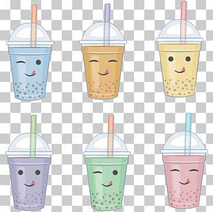 Bubble Tea Milk Tea Green Tea PNG