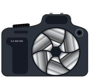 Digital SLR Camera Lens PNG