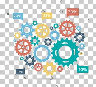 Infographic Gear Euclidean PNG