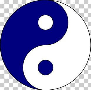 Yin And Yang Symbol Logo PNG