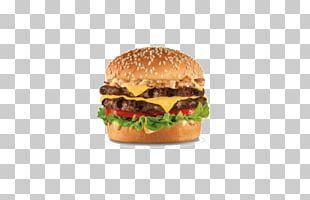 Cheeseburger Hamburger Chicken Sandwich French Fries Hardee's PNG