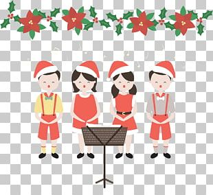 Christmas Concert Choir Singing Child PNG