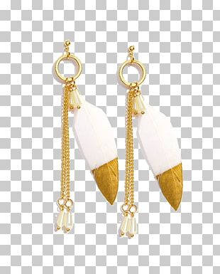 Earring Body Jewellery Necklace Metal Chain PNG