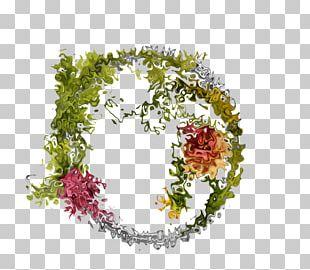 Floral Design Frames Art PNG
