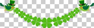 Saint Patricks Day Luck Clover PNG