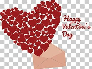 Valentines Day Cupid Heart Euclidean PNG