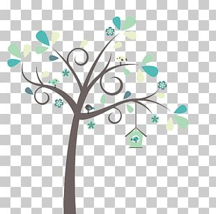 Lovebird Bird In The Tree PNG