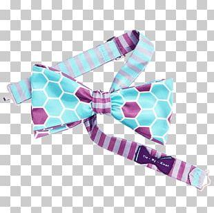 Bow Tie Hair Tie Pink M RTV Pink PNG