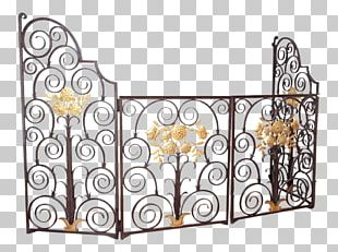Wrought Iron Gate Material Steel PNG