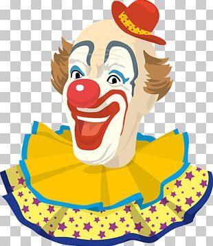 Pierrot Clown Circus PNG