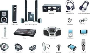 Professional Audiovisual Industry Audio Signal PNG