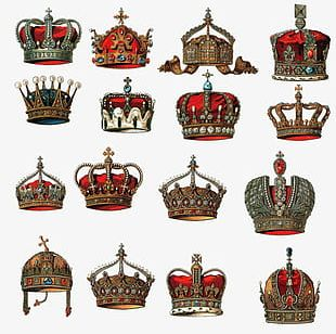 Crown Collection Figure PNG