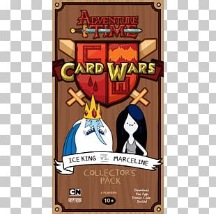 Ice King Marceline The Vampire Queen Card Wars Playing Card Princess Bubblegum PNG