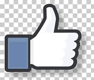 Facebook Messenger Social Media Like Button Thumb Signal PNG