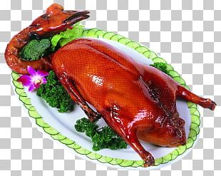 Roast Goose Peking Duck Red Cooking Roast Chicken PNG