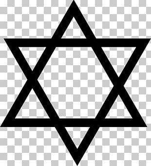 Star Of David Judaism Religion PNG
