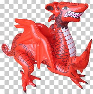 Welsh Dragon Inflatable Legendary Creature PNG