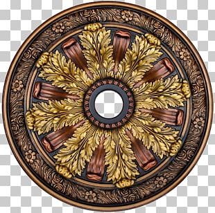 Painted Ceiling Painting Medallion Building PNG