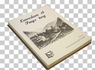 Paper Product Book Société D'études Des Sept Vallées Table Of Contents PNG