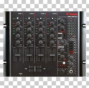 Audio Mixers Vestax DJ Mixer Disc Jockey Audio Mixing PNG