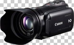 Canon VIXIA HF G10 Camcorder Video Cameras Zoom Lens PNG