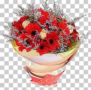 Floral Design Flower Bouquet Red Rose PNG