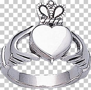 Poison Ring Silver Jewellery Claddagh Ring PNG