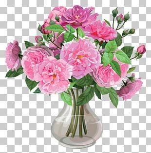 Vase Flower Rose PNG
