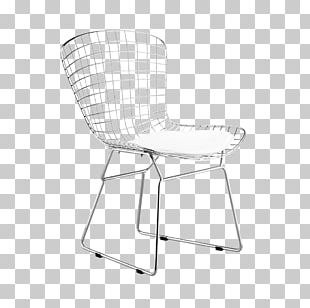 Wire Chair (DKR1) Eames Lounge Chair Dining Room Furniture PNG