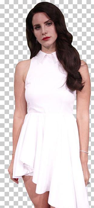 Lana Del Rey Fashion Model Art Cocktail Dress PNG