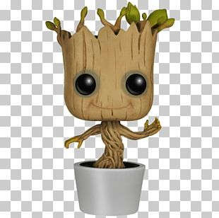 Baby Groot Star-Lord Funko Bobblehead PNG