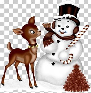 Dog Breed Snowman Christmas Ornament PNG