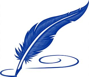 Paper Pen Quill Feather PNG