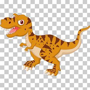 Tyrannosaurus Cartoon Dinosaur Illustration PNG