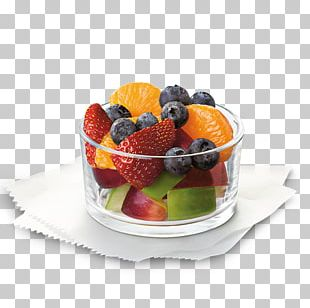 Fruit Salad Chicken Sandwich Fruit Cup French Fries Chick-fil-A PNG