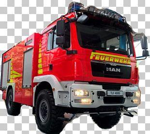 Volunteer Fire Department Bad Bevensen Water Tender Firefighter PNG