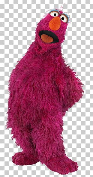 Telly Monster Cookie Monster Grover Big Bird Elmo PNG