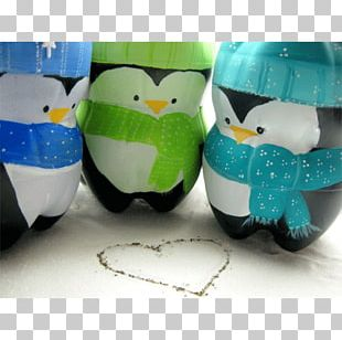 Plastic Bottle Recycling Christmas Decoration PNG