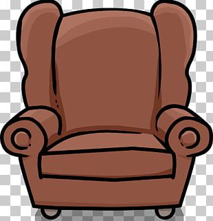 Club Chair Club Penguin Table PNG