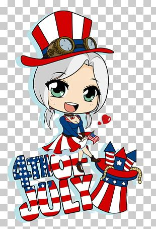 Independence Day Drawing Chibi PNG