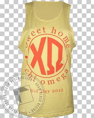 T-shirt Gilets Sleeveless Shirt Font PNG