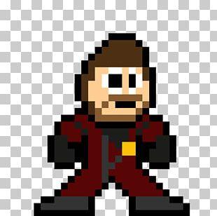 Iron Man Spider-Man Hulk Black Widow Pixel Art PNG
