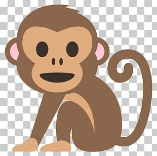 Emoji Monkey Text Messaging Meaning Sticker PNG